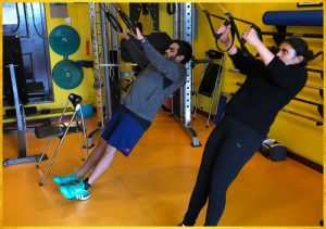 Strength Training - TRX Suspension, body weight exercises