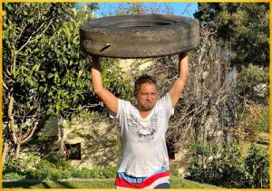 Conditioning- Tyre Throws