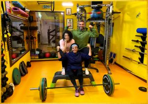 Our student completes 9 years of strength- Geeta Abraham
